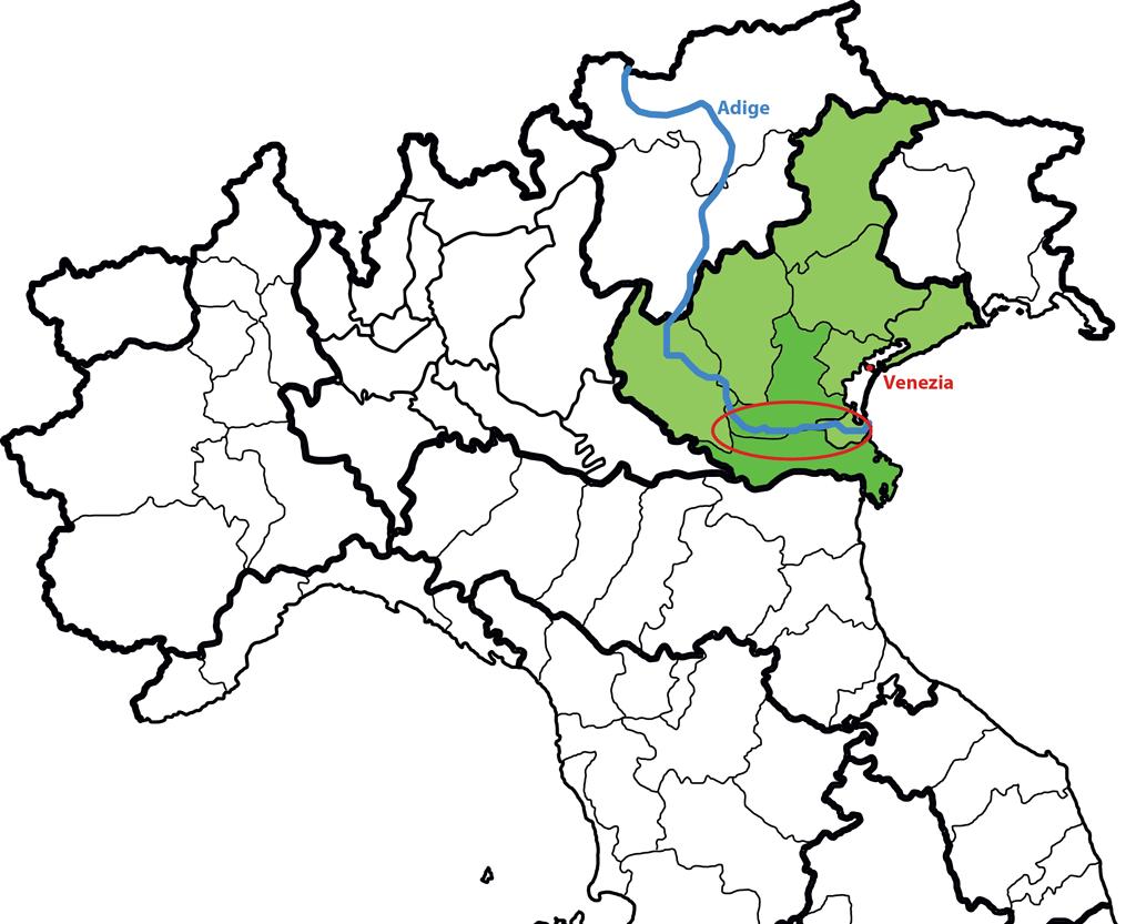 Cartina Dellitalia Rovigo Tomveelers